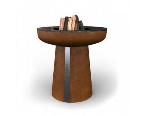 Гриль-очаг на дровах AHOS SPHERE, 75 см, ржавый