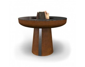 Гриль-очаг на дровах AHOS BIG SPHERE, 100 см, ржавый